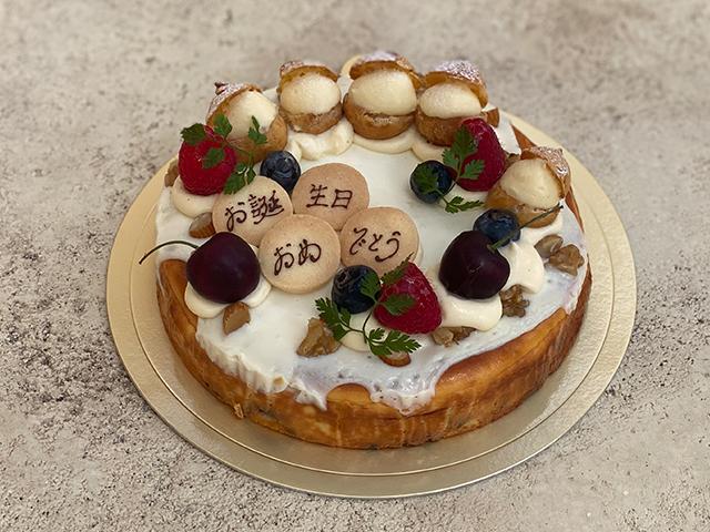 くるみがたっぷり幸せのチーズケーキ